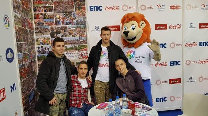 Uspešno predstavljanje Sportskih igara mladih na Sajmu sporta 1