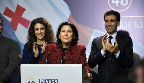 Prva žena predsednica Gruzije 9