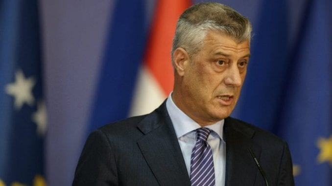 Tači: Kosovo se oseća kažnjenim i prevarenim od EU 4