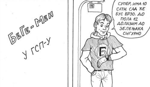 "Nova epizoda stripa ""BeGe MEN u GSP-u"" danas na Strip Blogu 9"