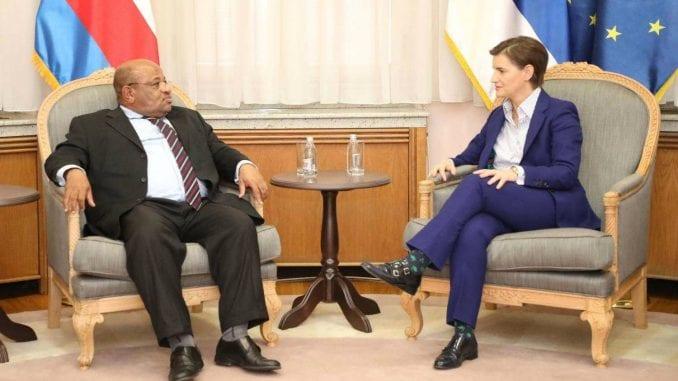 Brnabić sa El-Aminom o unapređenju saradnje sa Unijom Komore 4