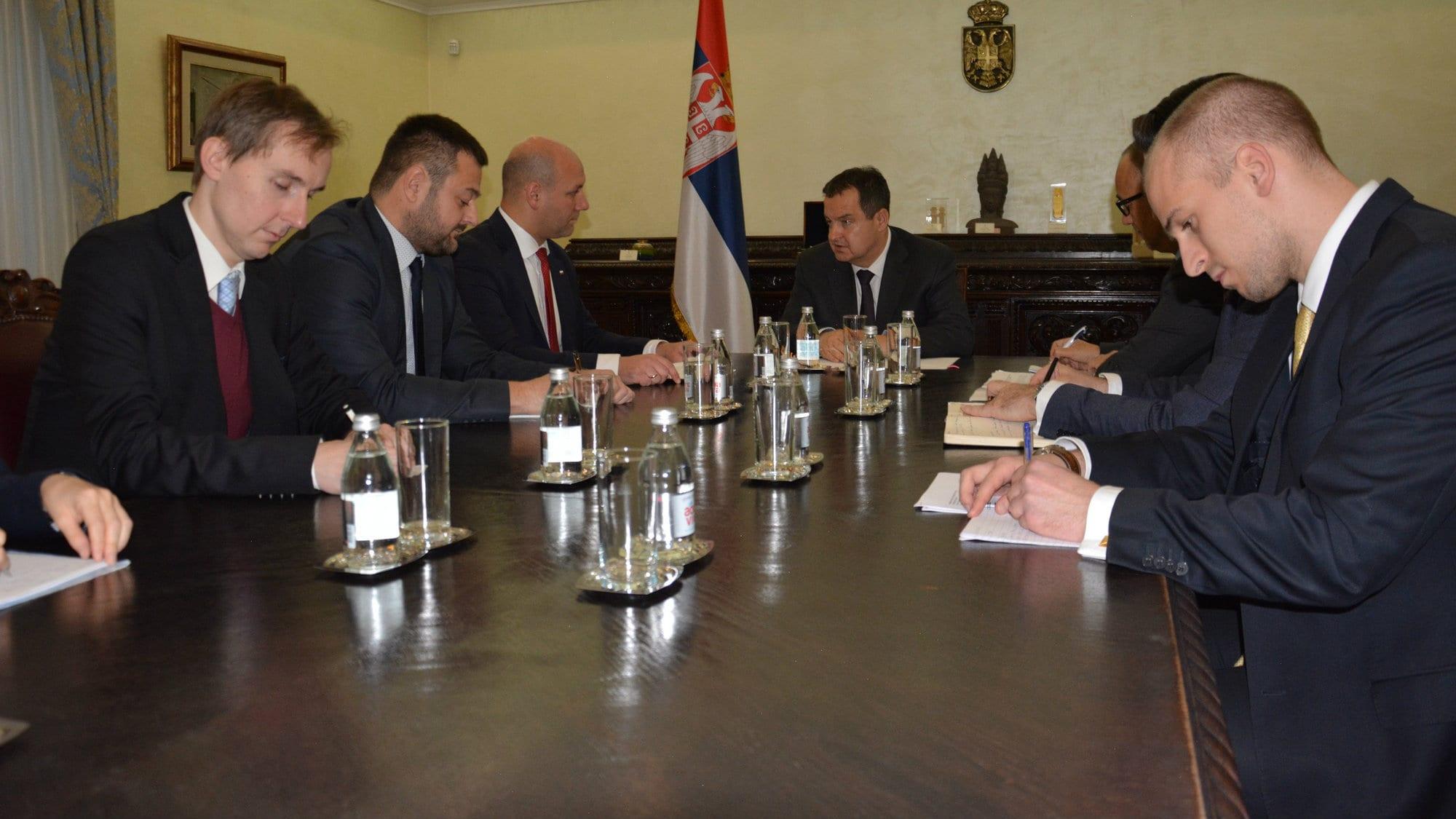 """Dačić sa državnim sekretarom Poljske o """"Berlinskom procesu"""" 1"""