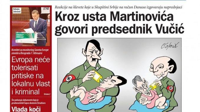 Zašto se Vučić prepoznao u liku Hitlera? 1