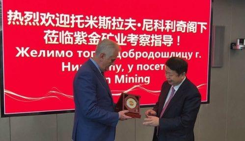 Tomislav Nikolić obišao kinesku kompaniju Zijin 14