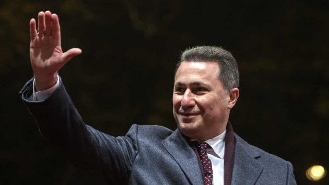 Tročanji: Nema izručenja Gruevskog 1
