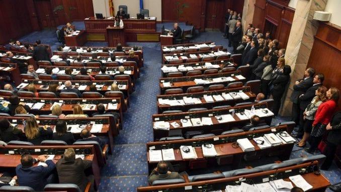 Konstituisan 10. saziv parlamenta Severne Makedonije 1