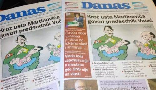 """Žene u crnom: Besomučna hajka režima na """"Danas"""" i Koraksa 11"""