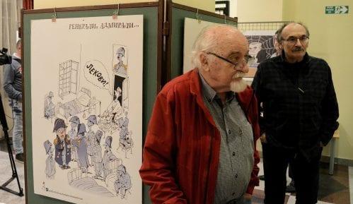 Zabranjeni karikaturisti Koraks i Petričić u opštini Stari grad 4