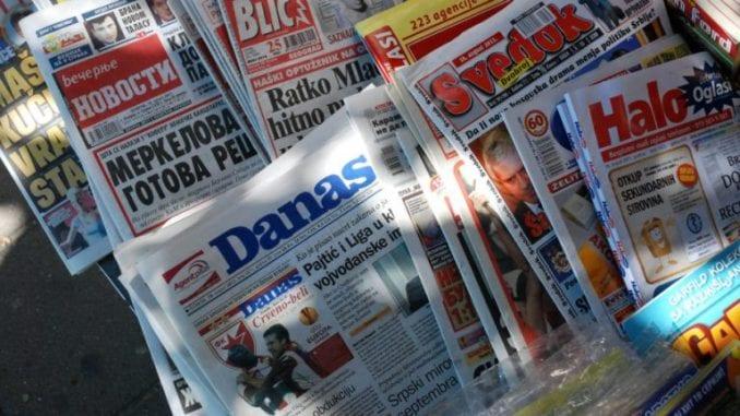 Vlada Kosova demantovala da je štampa iz Srbije zabranjena 1