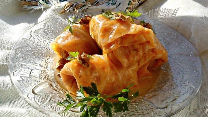 Recept nedelje: Posna sarma sa orasima 1