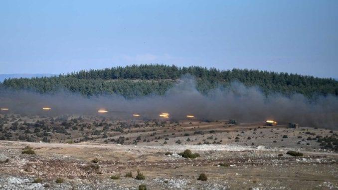 Vežba Vojske Srbije, na poligonima 8.000 vojnika 1