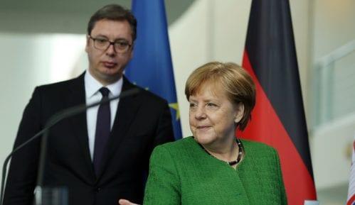 Vučić: Stav Merkel o gasovodu Severni tok 2 dobar i za izgradnju Turskog toka 3