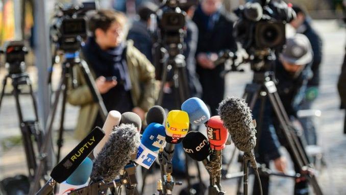 Tužilaštvo preduzima radnje u 10 predmeta koji se odnose na pretnje novinarima 5