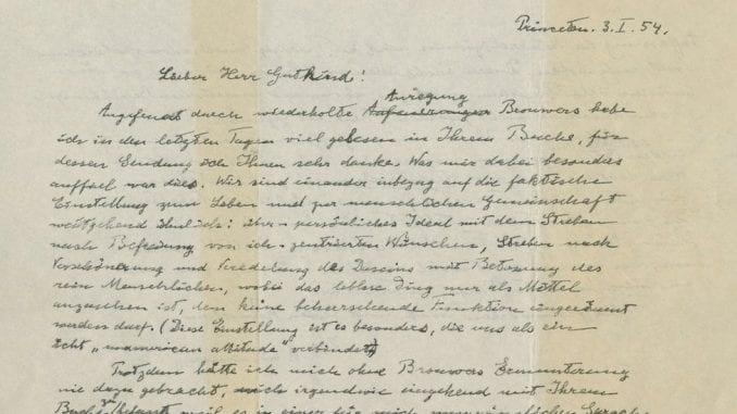 "Ajnštanovo ""Pismo o Bogu"" prodato za 2,9 miliona dolara na aukciji 1"