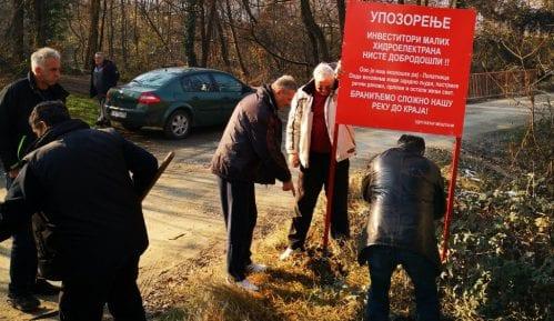 Protest protiv izgradnje mini hidroelektrana 27. januara u Beogradu 14