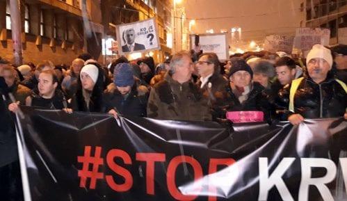 """Drugi protest """"Stop krvavim košuljama"""" masovniji od prvog (FOTO, VIDEO) 10"""