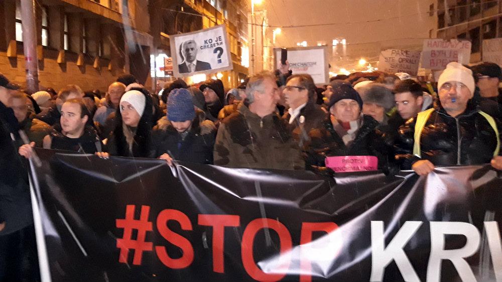 """Drugi protest """"Stop krvavim košuljama"""" masovniji od prvog (FOTO, VIDEO) 1"""