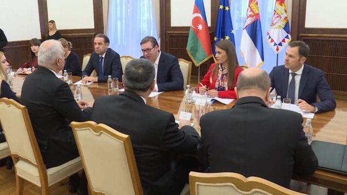 Vučić: Kompanije iz Azerbejdžana pouzdani partneri 1