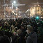 """Drugi protest """"Stop krvavim košuljama"""" masovniji od prvog (FOTO, VIDEO) 8"""