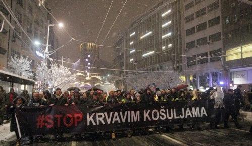 "Sledeći protest ""Stop krvavim košuljama"" ipak 22. decembra 9"