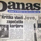 Danas (1998): Smena Momčila Perišića, studentski protesti... 3