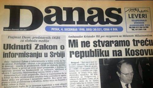 Kristofer Hil (1998): Važan unutrašnji status Kosova, to ne uključuje vojsku 7