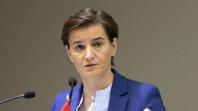 Brnabić: Srbija snažno posvećena evropskom putu 1