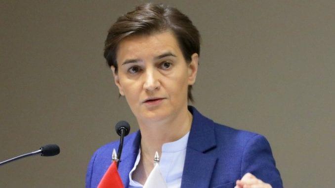Brnabić u Briselu na prijemu povodom obeležavanja Dana državnosti Srbije 1