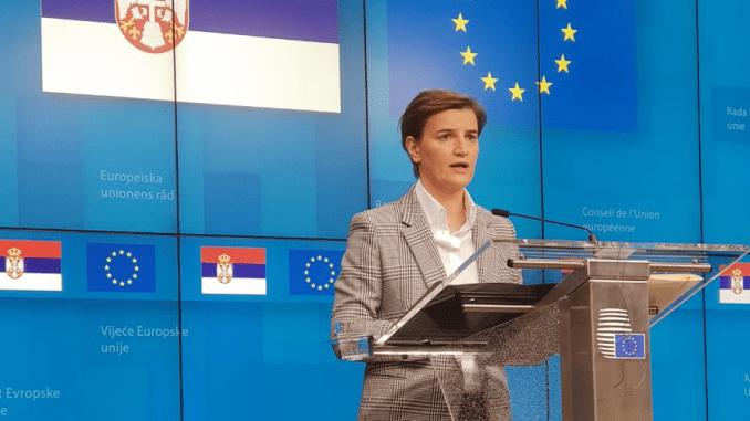 Brnabić: Zamrznut konflikt nije u interesu Srbije 1