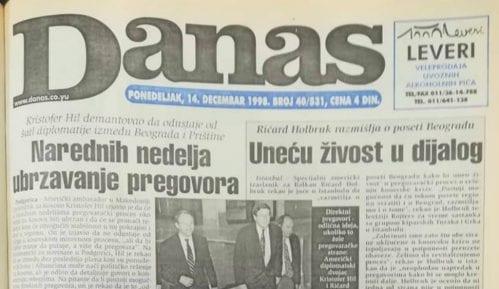 Danas (1998): Kako su izgledali studentski protesti u Beogradu? 3