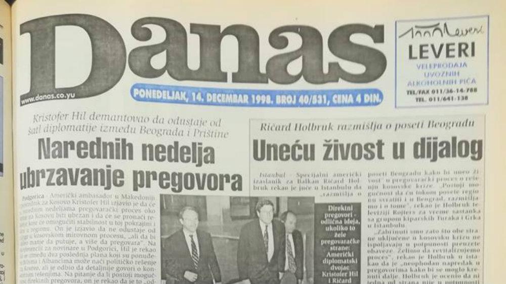 Danas (1998): Kako su izgledali studentski protesti u Beogradu? 1