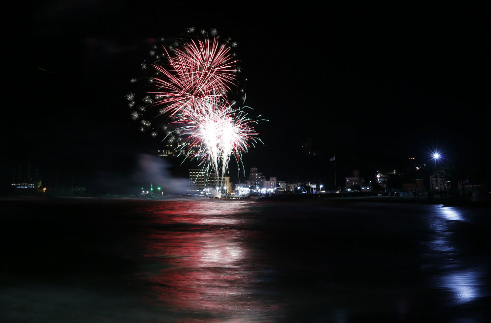 Vatrometi obeležili početak Nove godine u svetu (FOTO) 11