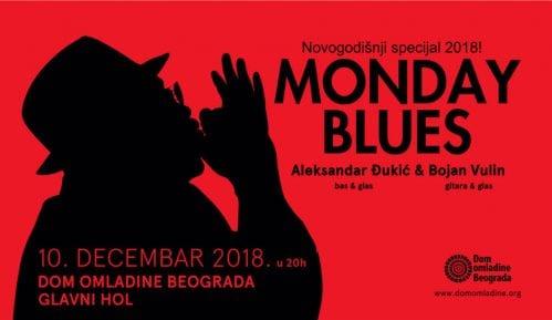 Novogodišnji Monday Blues specijal u Domu omladine Beograda 2