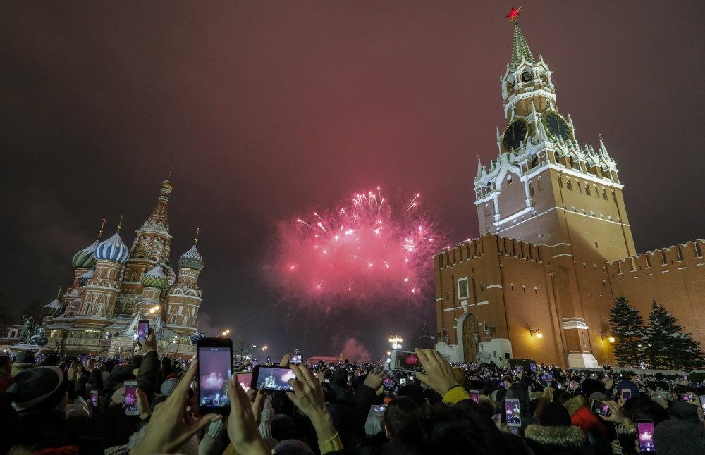 Vatrometi obeležili početak Nove godine u svetu (FOTO) 8