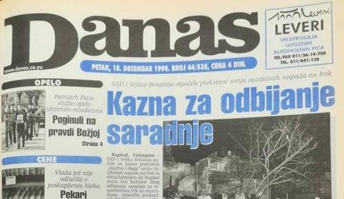 Milošević (1998): Nikad nismo zabranjivali novine, samo kažnjavamo zbog laži 11