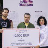 Na humanitarnom turniru Direct Medije dodeljena sredstva NURDOR-u 6