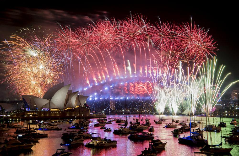 Vatrometi obeležili početak Nove godine u svetu (FOTO) 15