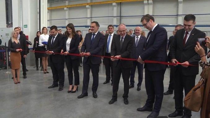 Otvorena Simensova fabrika kod Kragujevca 1