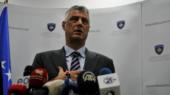 Tači: Glavni cilj u 2019. postizanje mirnog sporazuma sa Srbijom 1