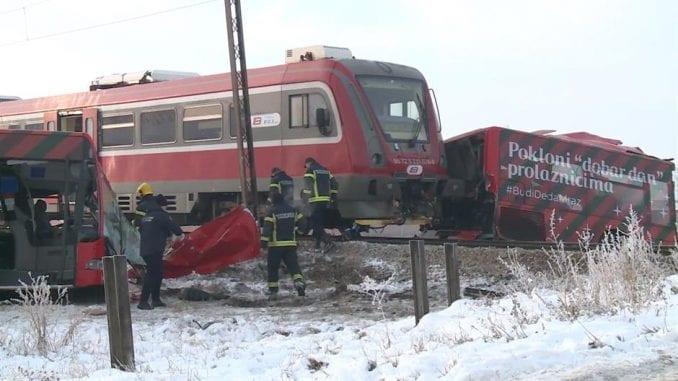 Sudar voza i autobusa kod Niša, petoro poginulo i 27 povređeno 2