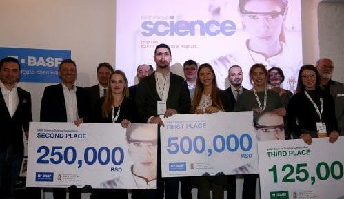 BASF Start-up Science proglasio najbolje mlade naučnike Srbije 2