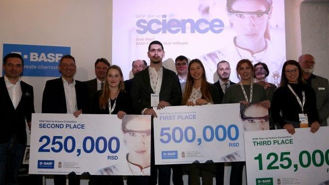 BASF Start-up Science proglasio najbolje mlade naučnike Srbije 4