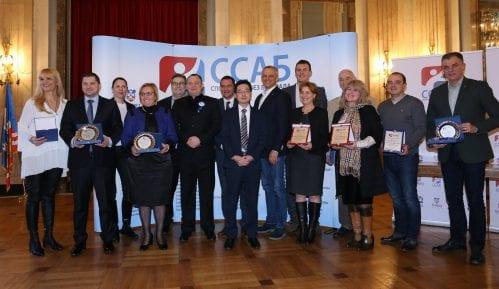 Sportski savez Beograda uručio zahvalnice za doprinos u radu 3