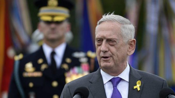 Matis poslednjeg dana pozvao zaposlene u Pentagonu da štite svoju zemlju 1