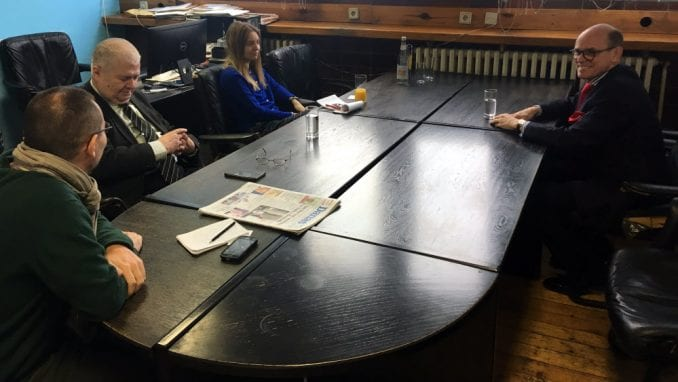Ambasador Norveške posetio redakciju Danasa 1
