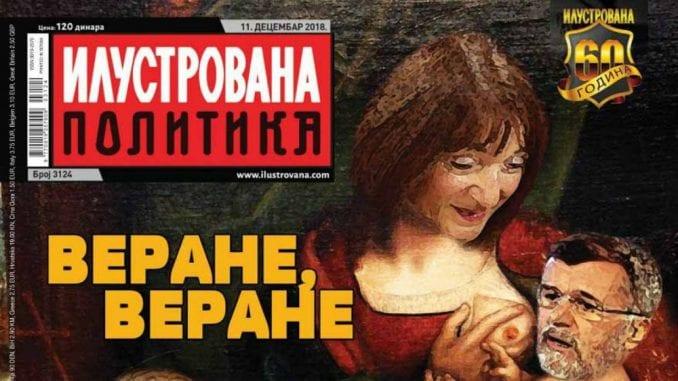 Ministarstvo kulture osudilo novu naslovnu Ilustrovane politike 3