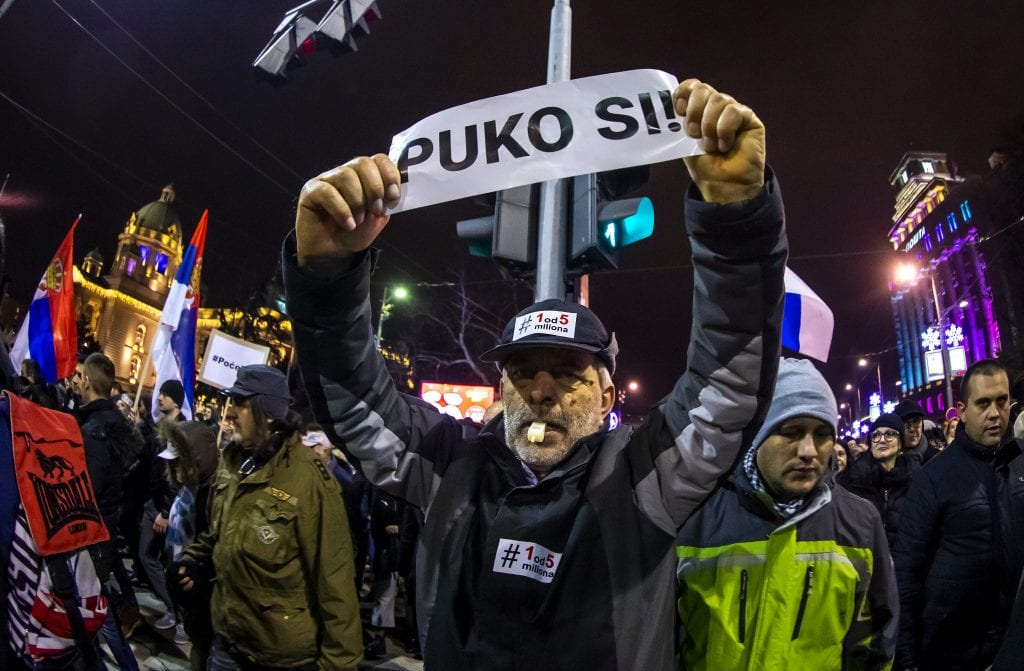 """Protest """"Jedan od pet miliona"""" najmasovniji do sada (VIDEO, FOTO) 9"""