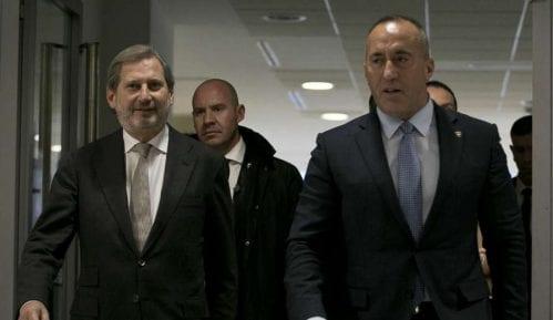Sastali se Han i Haradinaj: Takse ostaju na snazi 8
