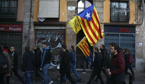 Katalonski separatisti marširaju ka Barseloni gde će u petak biti masovne demonstracije 6