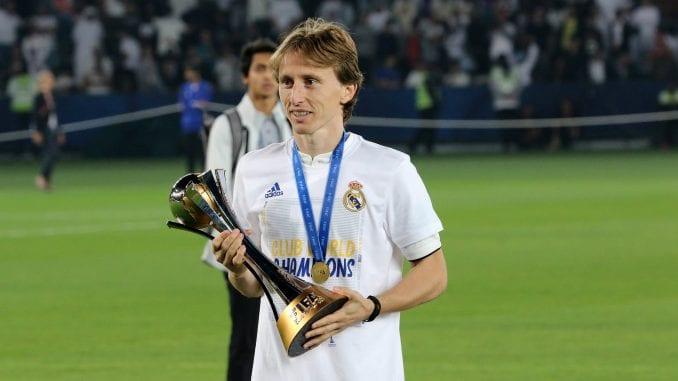 Modrić najbolji sportista na Balkanu 1
